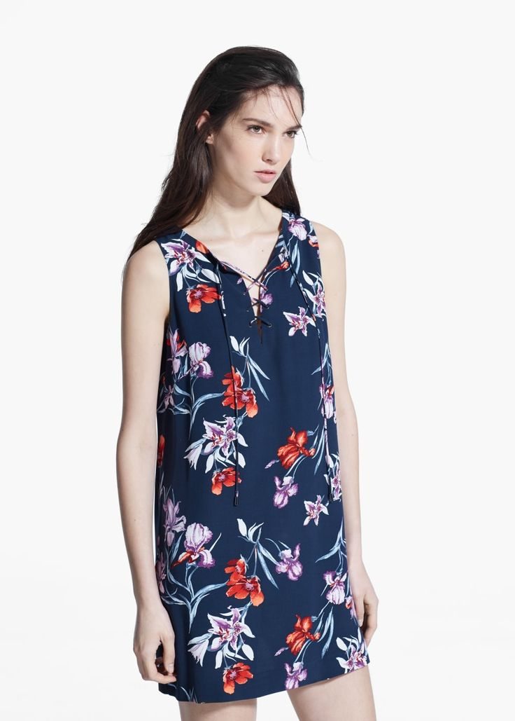 Cord floral dress