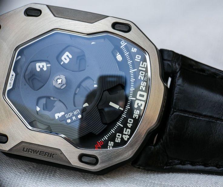 URWERK UR-105M Iron and Dark Knight Watches Hands-On