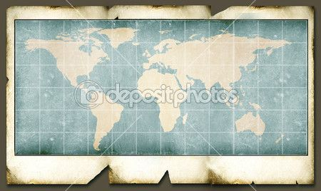 Vintage world map — Stock Image #1911341