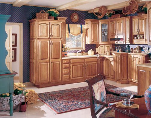 Rose Hall Arch Hickory Medium Arch Style Cabinets