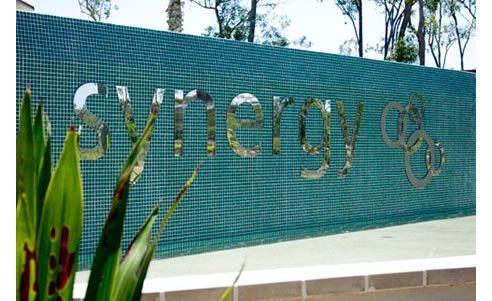 Custom designed building signage http://www.spec-net.com.au/press/0310/wwd_310310.htm #signage #modern #custom #synergy #building