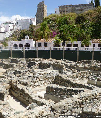Parque del Majuelo, Salazón de Pescado y Castillo de San Miguel. Almuñécar