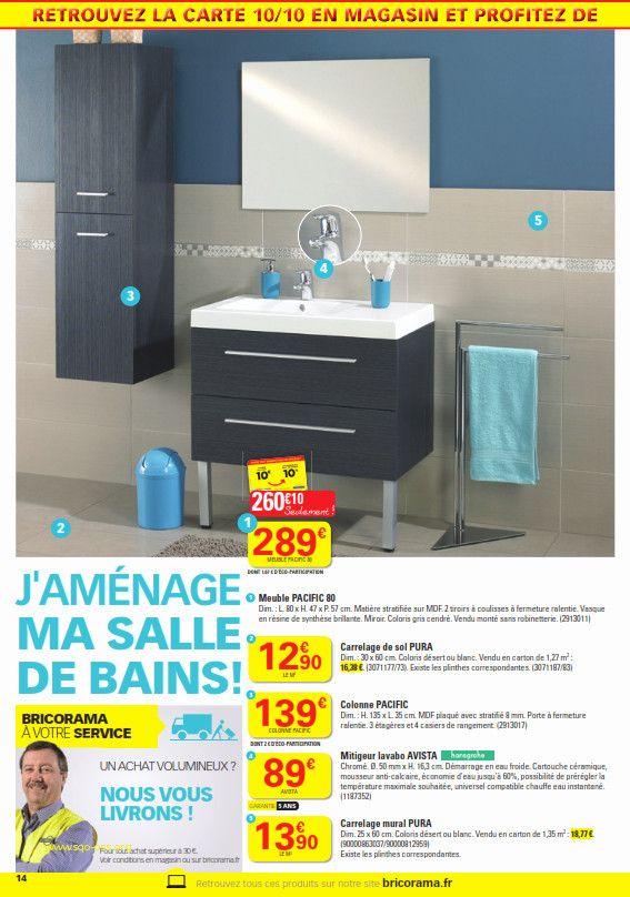 Carrelage Bricorama With Images Small Bathroom Bathroom Cabinets Bathrooms Remodel