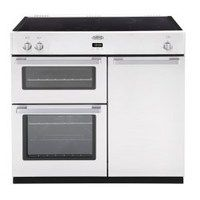 Belling DB4 90Ei 90cm Electric Range Cooker with Induction Hob - White