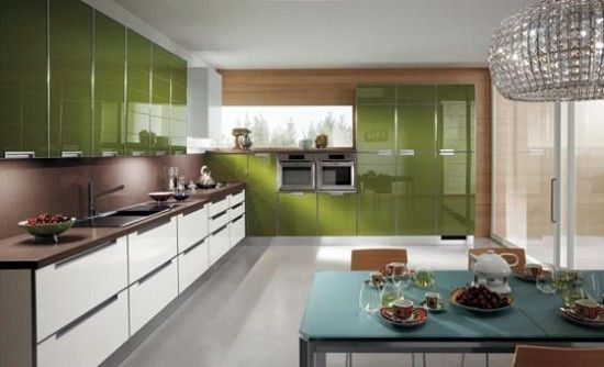 Green kitchen cupboards, Olives and Olive green kitchen on Pinterest