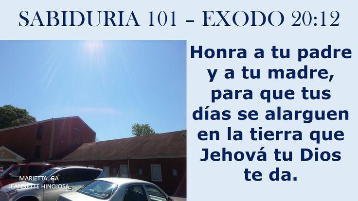 EXODO 20:12 - MARIETTA, GA