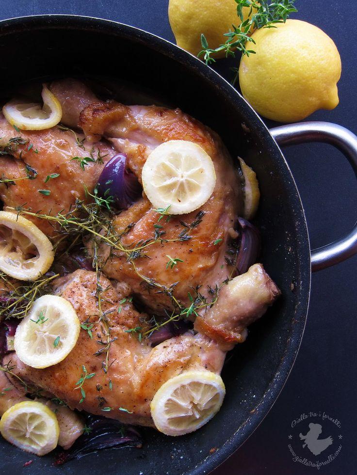 Gialla tra i fornelli: Pollo al limone e timo in tegame e #IceBucketChallenge