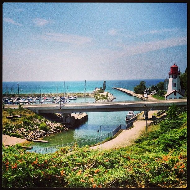 Nestled in the harbour of Kincardine, is the lighthouse, museum and gift shop. This ia great musem to tour and unique design. Tour happen dail in peak season. This is a great place to end your day, take the tour and then watch the sunset over Lake Huron, or watch a storm roll in off the lake and take it all in.