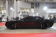 Liberty Walk Dodge Challenger The latest model to get a widebody from famous house Liberty Walk is a American muscle car Dodge Challenger,putting American automaker sports car in a prestigious group that includes the Nissan GT-R , Ferrari and some Porsche models. He finished in menacing jet black, Liberty Walk widebody looks right at home ...