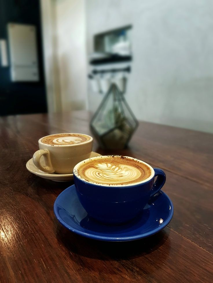 """Cappuccinos"", Atlas Coffee House, Singapore"
