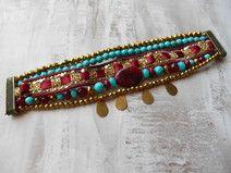 Bracelet manchette brésilien style