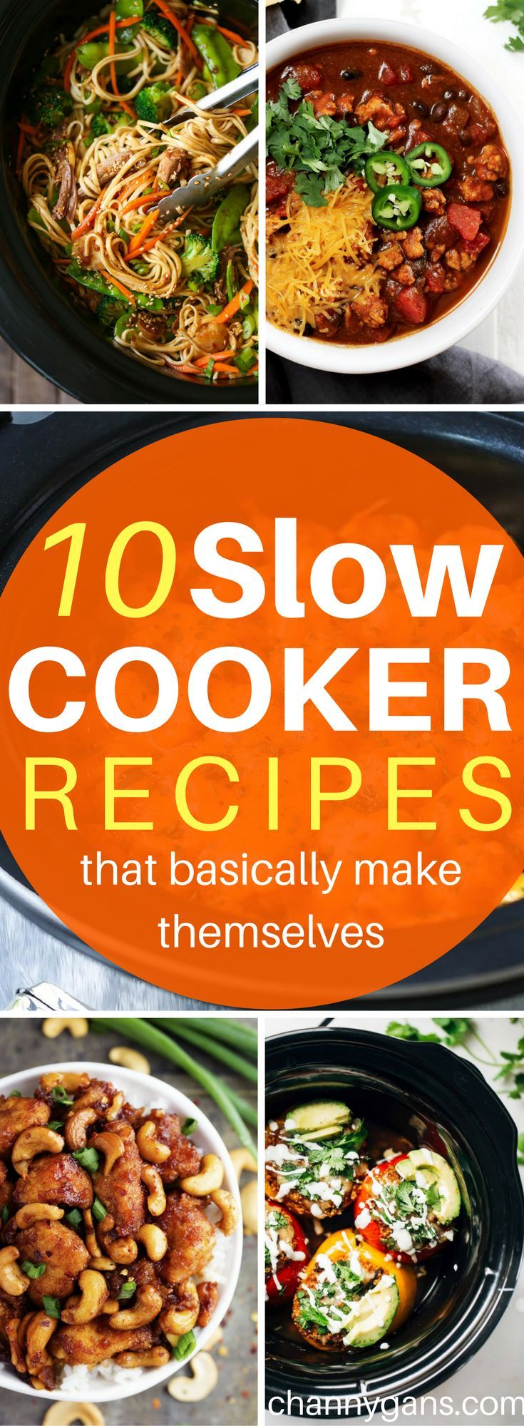 These slow cooker recipes are AWESOME! Now I can easily make delicious slow cooker meals! Definitely repinning! #slowcooker #recipes