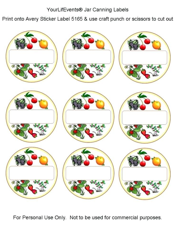 Printable Blank Mason Jar Lid Label Template Jelly Labels Free Canning Jam Coloring Pages For Girls Canning Labels Canning Labels Free Ball Jar Labels