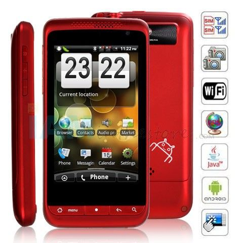 3.6 inch L601 Android in Red. Red is the color of sexuality and can stimulate deeper and more intimate passions in us, such as love and sex on the positive side or revenge and anger on the negative. #colour #colourmeaning #colourpsychology #mobile #device #technology #electronics #red #android #sprout