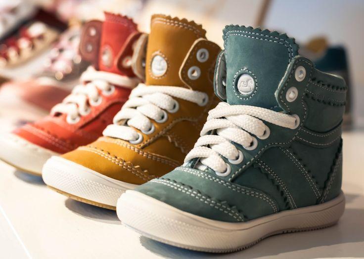 Stylish Kids Trainers. Emel leather kids shoes