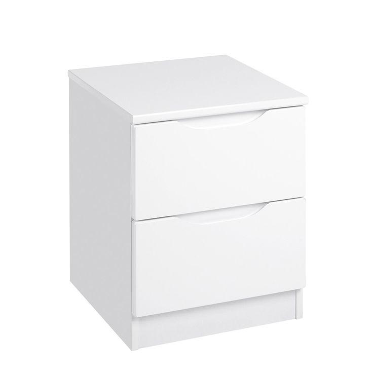 Best 25 White gloss bedside table ideas on Pinterest White