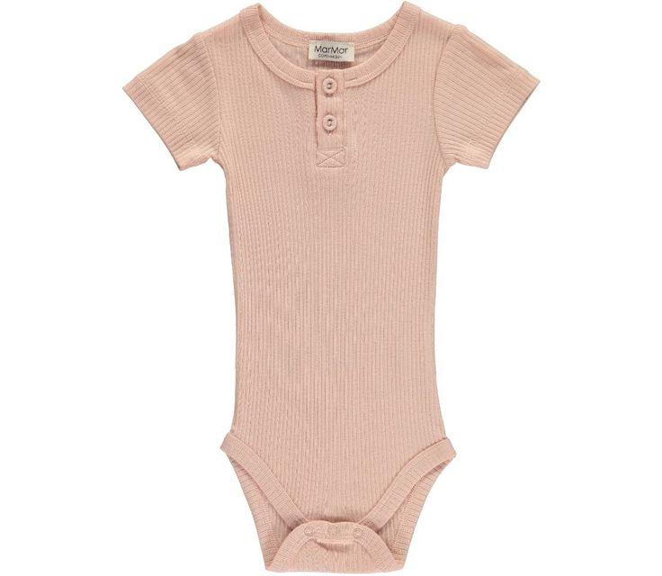 Body SS Modal - Cameo Rose - Bodyer - Baby