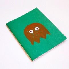 Pacman Canlı Yeşil Defter - #tasarim #tarz #yesil #rengi #moda #hediye #ozel #nishmoda #green #colored #design #designer #fashion #trend #gift yeşil tasarım