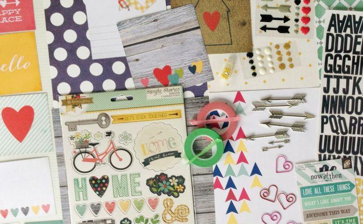 Polly! Scrap Kits: February 2014 Scrapbooking Kit
