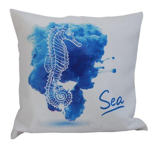 poszewka marynistyczna watercolor- konik morski