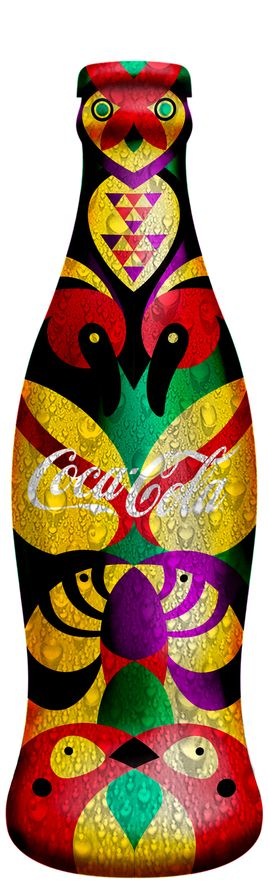 #Coca-Cola / Animal & Nature with more awesome #bottle #packaging PD