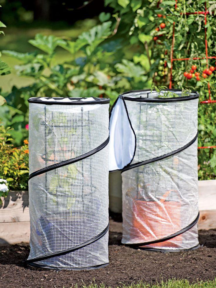 Plant Cover: Pop-Up Grow Bag Accelerator   Gardeners.com