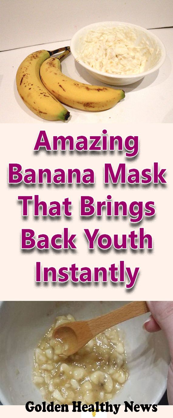 Amazing Banana Mask That Brings Back Youth Instantly