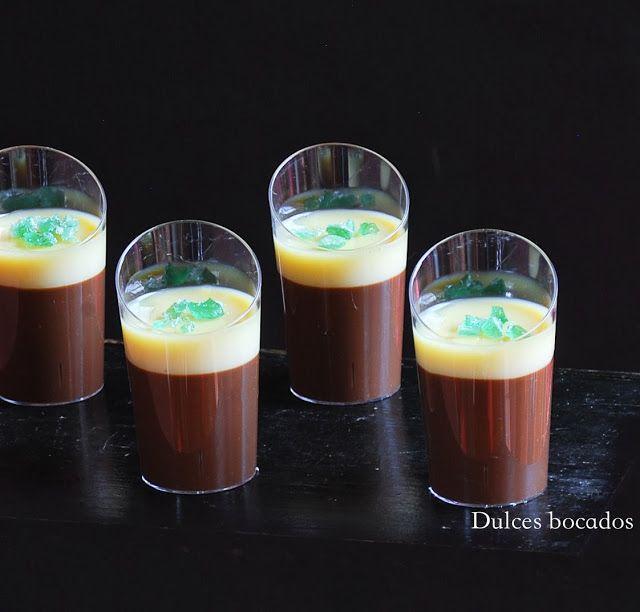 Dulces bocados: Crema doble chocolate a la menta