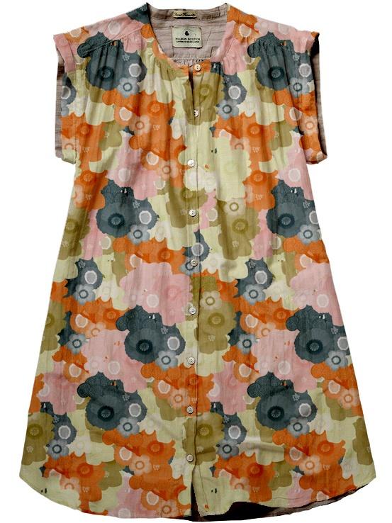 pattern by rita jardon :: dress by scotch & soda