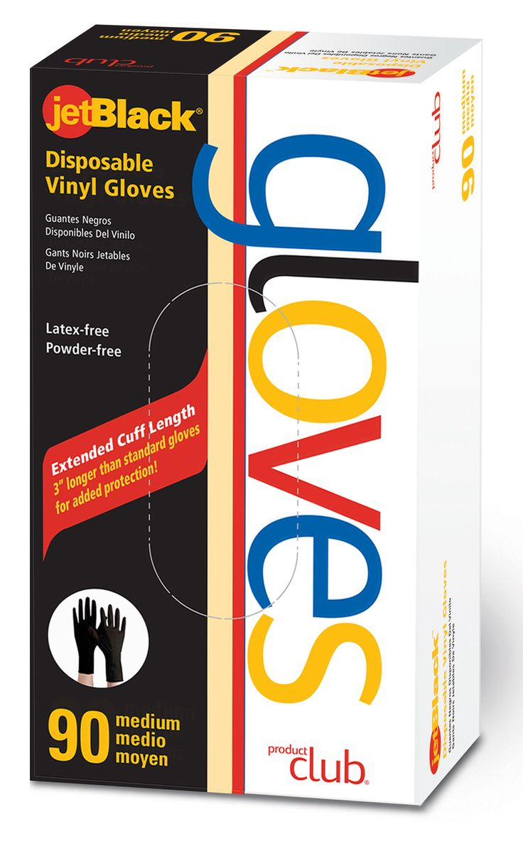 Disposable Gloves-Jet Black-90 CT