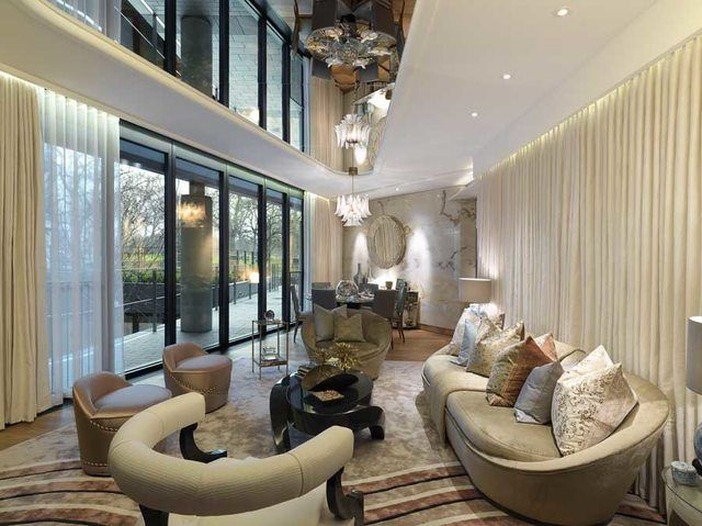 Interior Of A Room In One Hyde Park London The Most Expensive Apartment Block