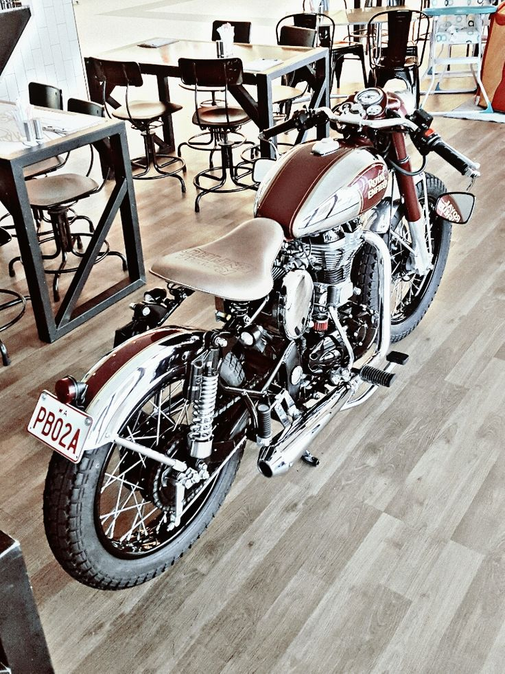 Royal Enfield aka Dr Chrome