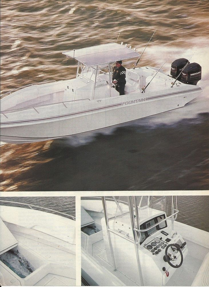 1984 Fountain Powerboats Fountain 31 Review & Specs