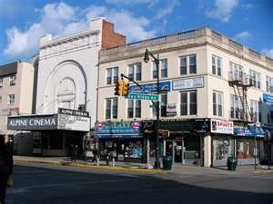 Alpine Cinema Bay Ridge Ave and 5th Ave Brooklyn, NY Worked at the Alpine Theater