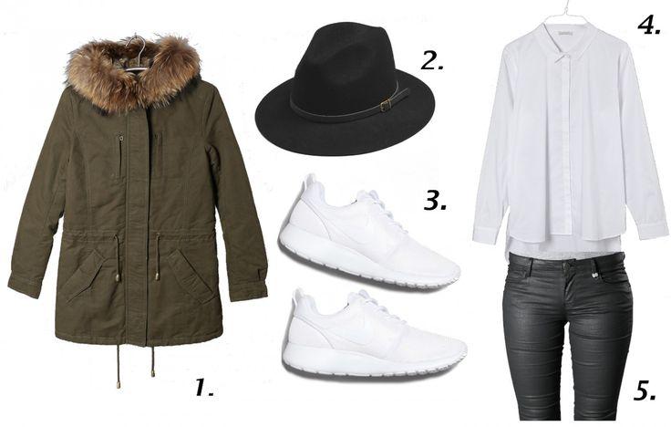 #parka #outfit #sneakers #white #weiß #hut #hat #modeblog #fashionblog http://fashiontipp.com