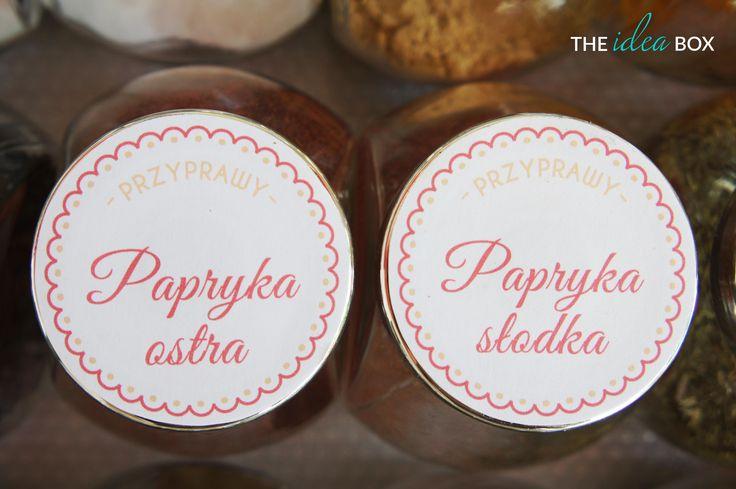 Nasze etykiety na słoiczki sprawią, że już nigdy nie pomylisz papryki ostrej ze słodką!