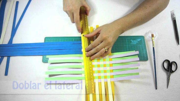 635 best cajas y papeles images on pinterest gift boxes - Como hacer una caja de carton ...