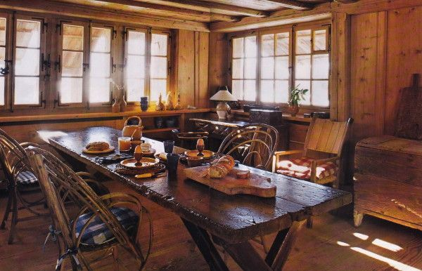axel vervoordt 39 s chalet in verbier switzerland a l. Black Bedroom Furniture Sets. Home Design Ideas