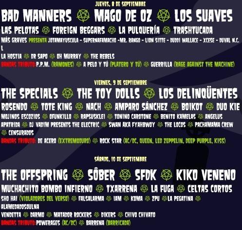 En Vivo Festival 2011, Spain
