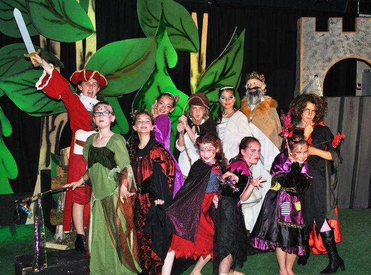 À la recherche du dragon d'Achlésor,troupe Montserrat junior, Festival international de théâtre de Mont-Laurier, septembre 2015