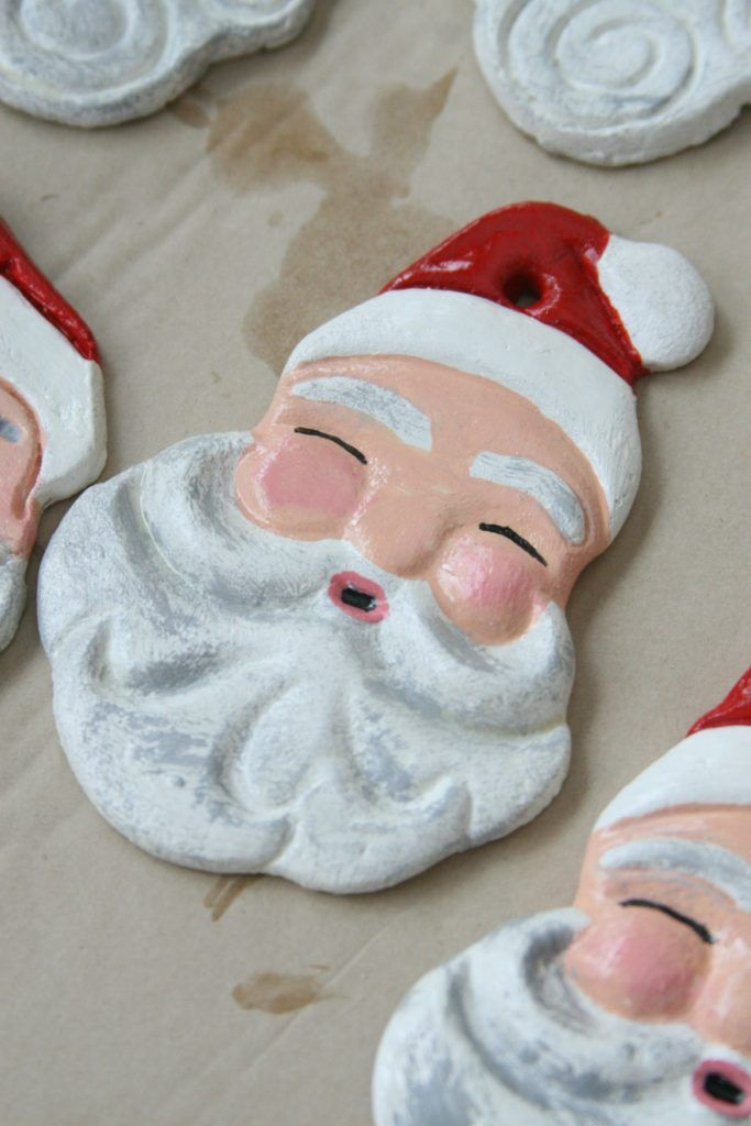 Salt dough ornaments are easy to make for Christma…