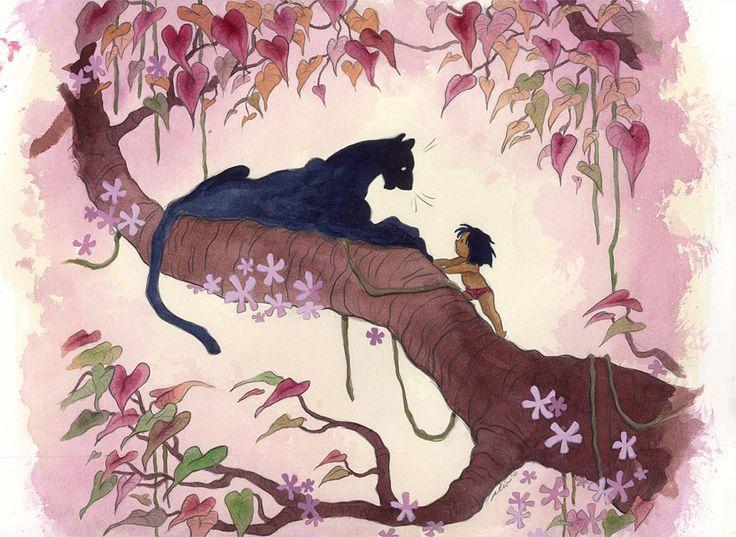 Jungle Book concept art.