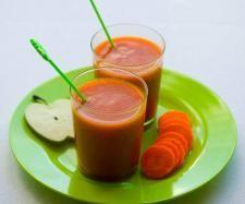 Receita Sumo de Cenoura e Maçã por Equipa Bimby - Categoria da receita Bebidas