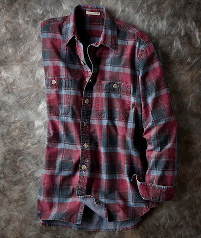 Vintners Plaid Shirt-Carbon 2 Cobalt
