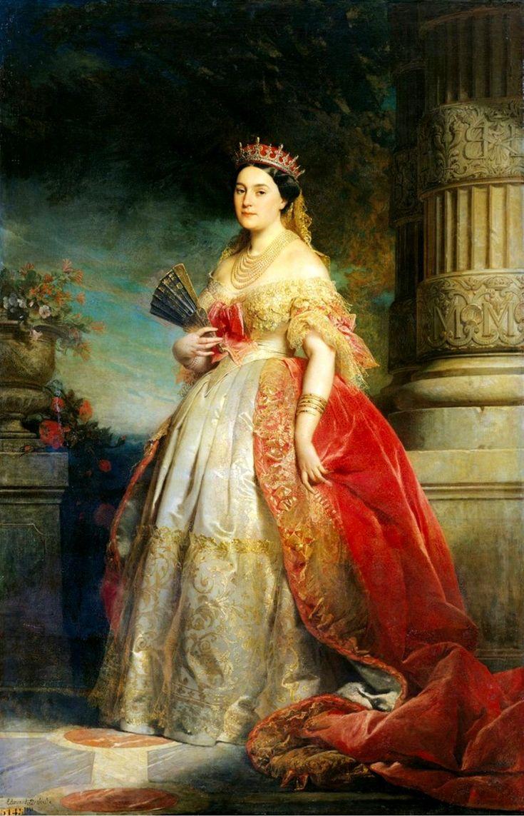 Mathilde Laetitia Wilhelmine Bonaparte  Edouard Louis Dubufe