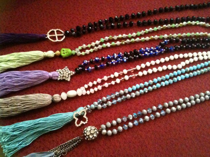 Fashion tassel bohemian style necklaces