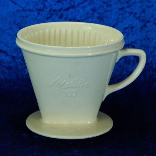 Alter 30er Jahre Keramik (kein Porzellan !) Kaffeefilter von Melitta - Typ 103 | eBay 34,99