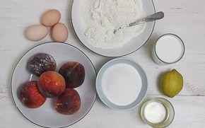 Szybkie ciasto z brzoskwiniami - krok 0