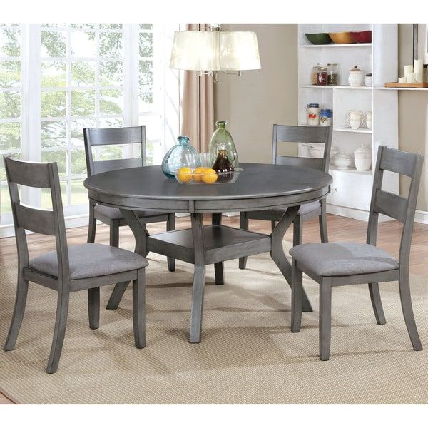 Transitional 54 Inch Round Dining Table