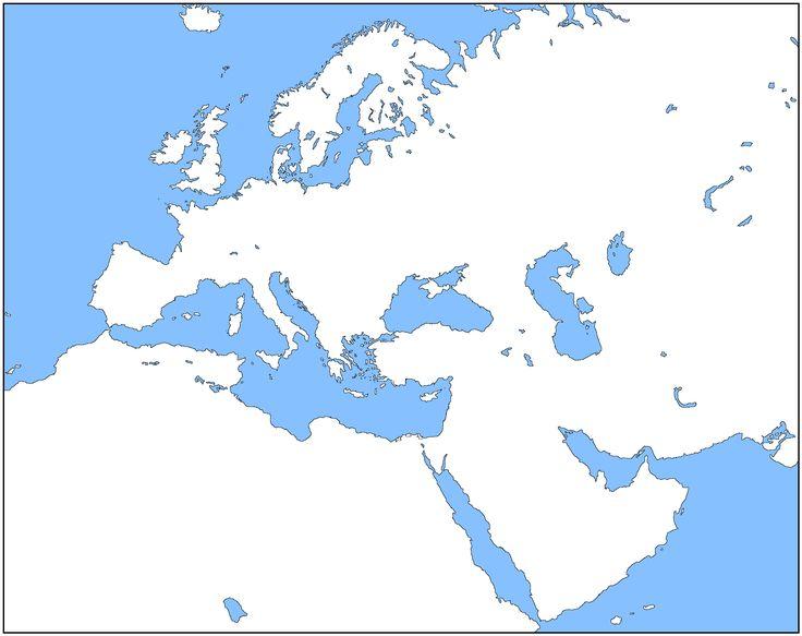 Map Of Europe 1500 Blank - Free Usa Maps